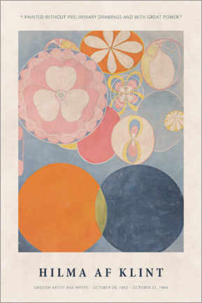 Premium-Poster  Hilma af Klint - With great power - Museum Art Edition