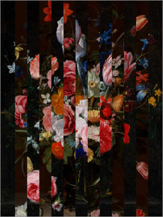 Alubild  Shifted Flemish Bouquet I - Jacob Green