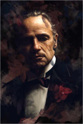 Alubild  The Godfather Vito Corleone - Dmitry Belov