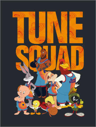 Holzbild  Space Jam 2 - The Tune Squad