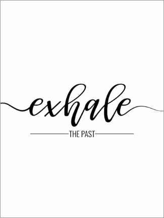 Holzbild  Exhale the past - TAlex
