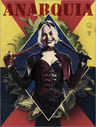 Gallery Print  The Suicide Squad - Harley Anarquia