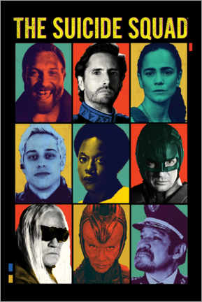 Wandsticker  The Suicide Squad I