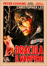 Wandsticker  Dracula (italienisch) - Entertainment Collection