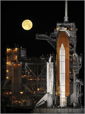 Wandsticker  Space Shuttle Discovery - Stocktrek Images