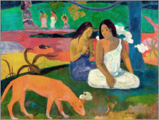 Gallery Print  Arearea - Paul Gauguin