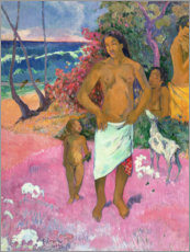 Wandsticker  Spaziergang am Meer - Paul Gauguin