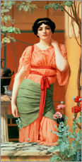Wandsticker  Nerissa - John William Godward