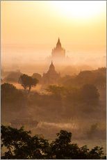 Gallery Print  Pagoden von Bagan, Myanmar - Matteo Colombo