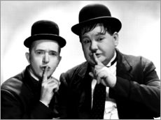 Wandsticker  Dick & Doof (Laurel & Hardy)