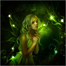 Gallery Print  Forest nymph - Elena Dudina
