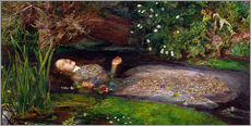 Wandsticker  Ophelia - Sir John Everett Millais