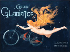 Wandsticker  Cycles Gladiator - Georges Massias