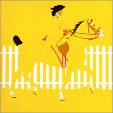 Gallery Print  Vollblüter - Clarence Coles Phillips