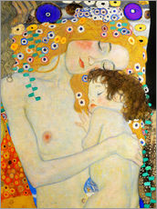 Gallery Print  Mutter mit Kind (Detail) - Gustav Klimt