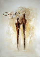Gallery Print  Two of us - Tina Melz