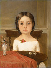 Wandsticker  Millie Smith - Ford Madox Brown