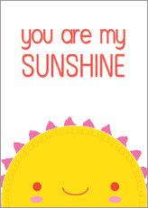 Gallery Print  You are my sunshine - Kat Kalindi Cameron