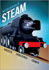 Gallery Print  Flying Scotsman - Advertising Collection