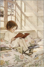 Gallery Print  Bilderbücher im Winter - Jessie Willcox Smith