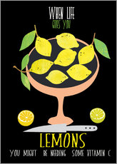 Gallery Print  When live gives you lemons - Elisandra Sevenstar