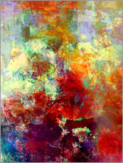 Gallery Print  Stained paint - Wolfgang Rieger