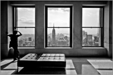 Wandsticker  New York - Top of the Rock - Thomas Splietker