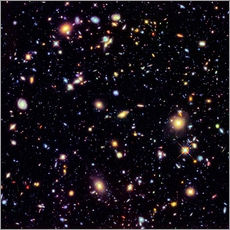 Gallery Print  Hubble Extreme Deep Field - NASA