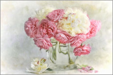 Gallery Print  roses and peonies - Lizzy Pe