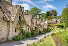 Gallery Print  Arlington Row in Bibury, Cotswolds, Gloucestershire (England) - Christian Müringer