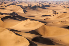 Wandsticker  Aerial view of the dunes of the Namib Desert, Namibia, Africa - Roberto Moiola