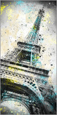 Gallery Print  City Art PARIS Eiffelturm IV - Melanie Viola