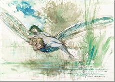 Gallery Print  Libelle - Gustave Moreau