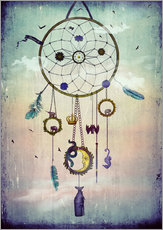Gallery Print  Traumfänger (Dream Catcher) - Sybille Sterk