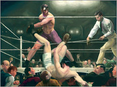 Gallery Print  Dempsey und Firpo - George Wesley Bellows