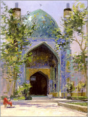 Gallery Print  Chanbagh Madrasses, Isfahan - Bob Brown