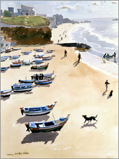Lucy Willis - Boote am Strand