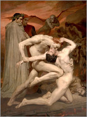 Gallery Print  Dante und Virgil - William Adolphe Bouguereau