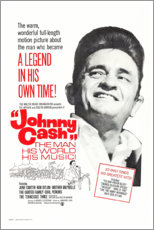 Premium-Poster  Johnny Cash! The Man, His World, His Music - Entertainment Collection