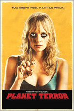 Wandsticker  Planet Terror - Entertainment Collection