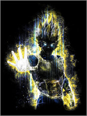 Wandsticker  Vegeta Fury - Barrett Biggers