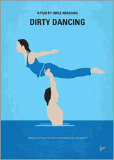 Gallery Print  No298 My Dirty Dancing minimal movie poster - chungkong