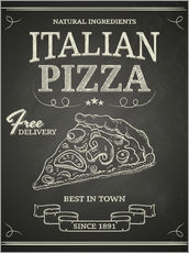 Wandsticker Italian Pizza