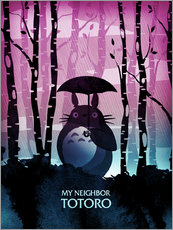 Gallery Print  My Neighbor Totoro - Albert Cagnef