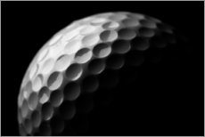 Gallery Print  Golfball in Makro