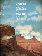 Gallery Print  Thelma and Louise (Englisch) - 2ToastDesign
