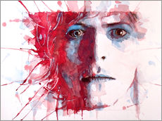 Gallery Print  The Prettiest Star : David Bowie - Paul Lovering Arts