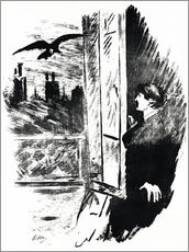 Gallery Print  E.A.Poe, Der Rabe - Edouard Manet