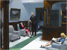 Edward Hopper - Hotellobby
