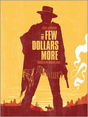 Gallery Print  For a few dollars more western movie inspired - Golden Planet Prints